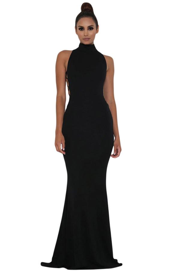 вечернее платье с американской проймой фото