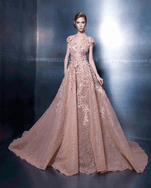 вечернее платье А-слуэта фото