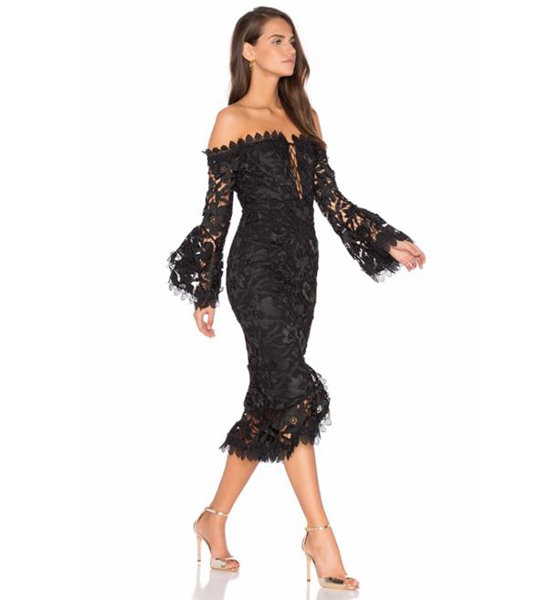 вечернее платье кружевные фото