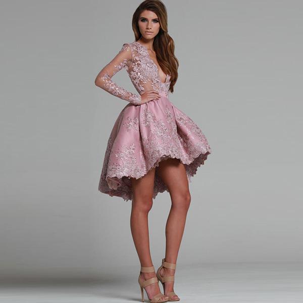 вечернее платье v-образный вырез фото