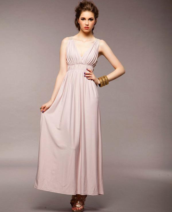 вечернее платье стиль ампир фото