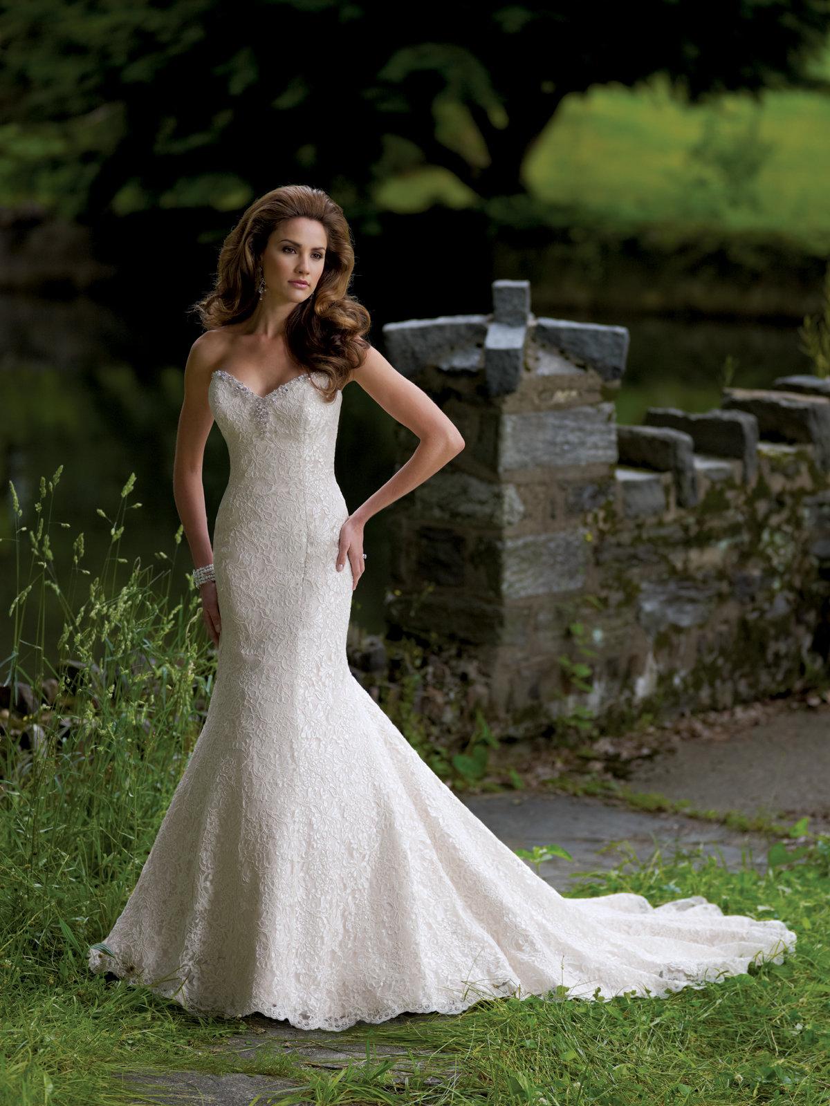 Свадебное платье в стиле годе фото