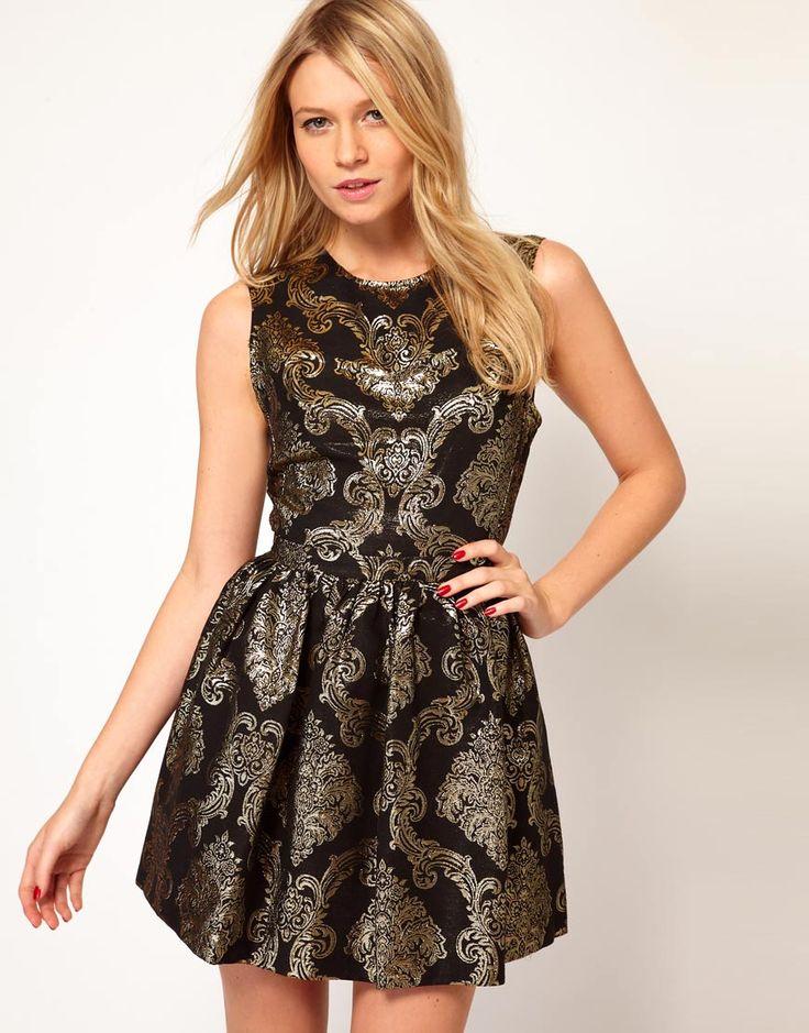 платье годе жаккард фото