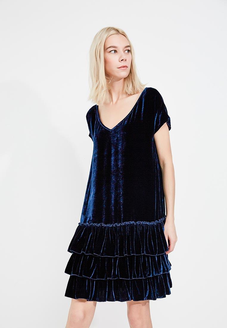 платье годе велюр фото