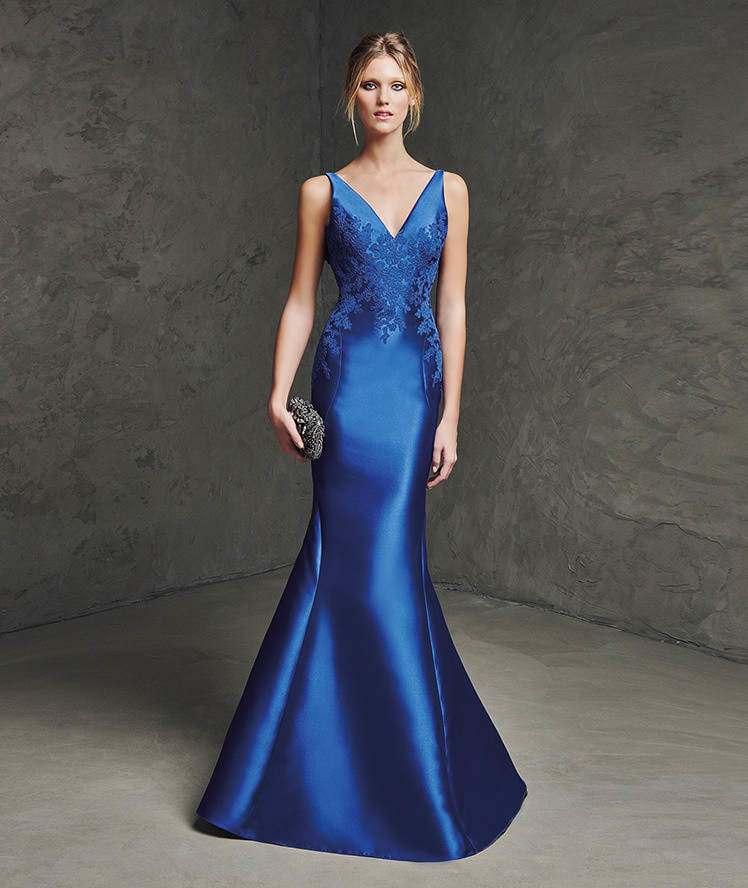 платье из шелка русалка