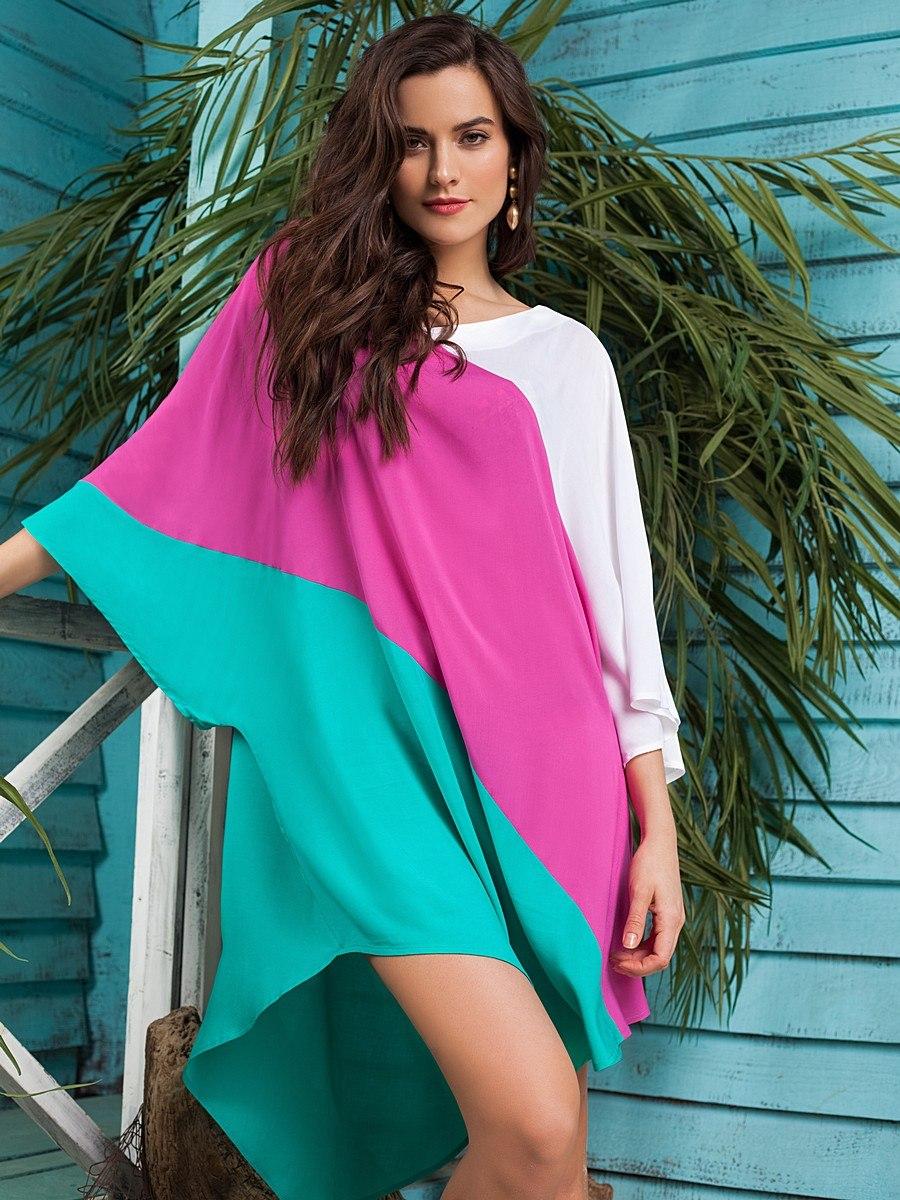 платье свободного кроя пляжное