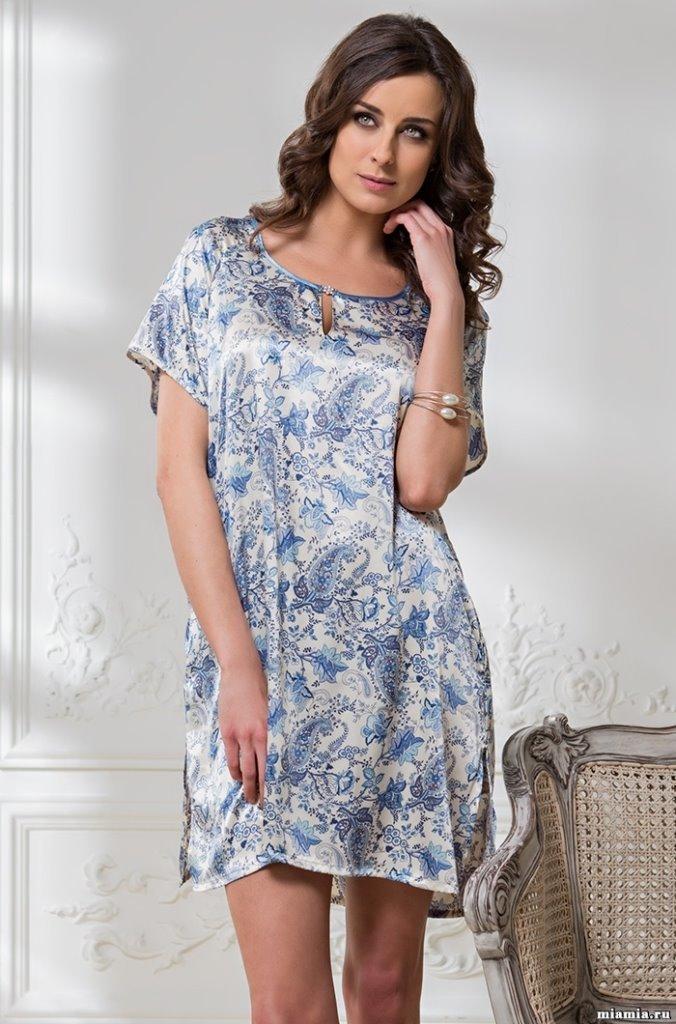 домашнее платье туника