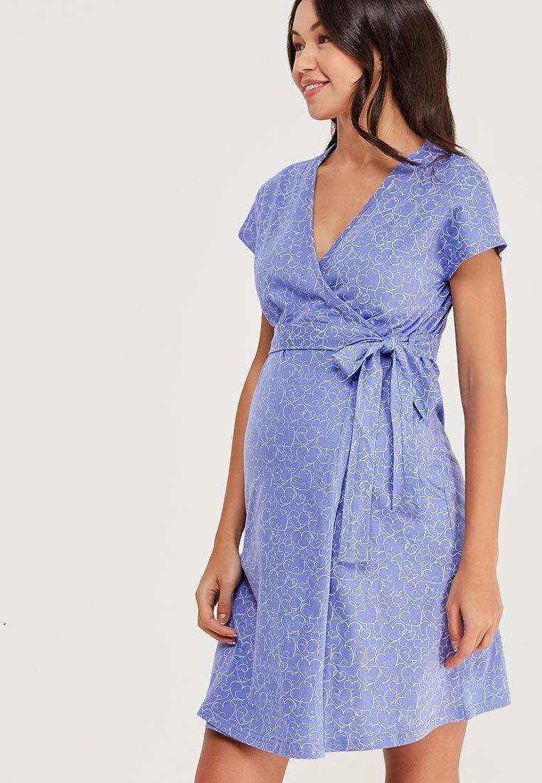 домашнее платье для беременных с запахом