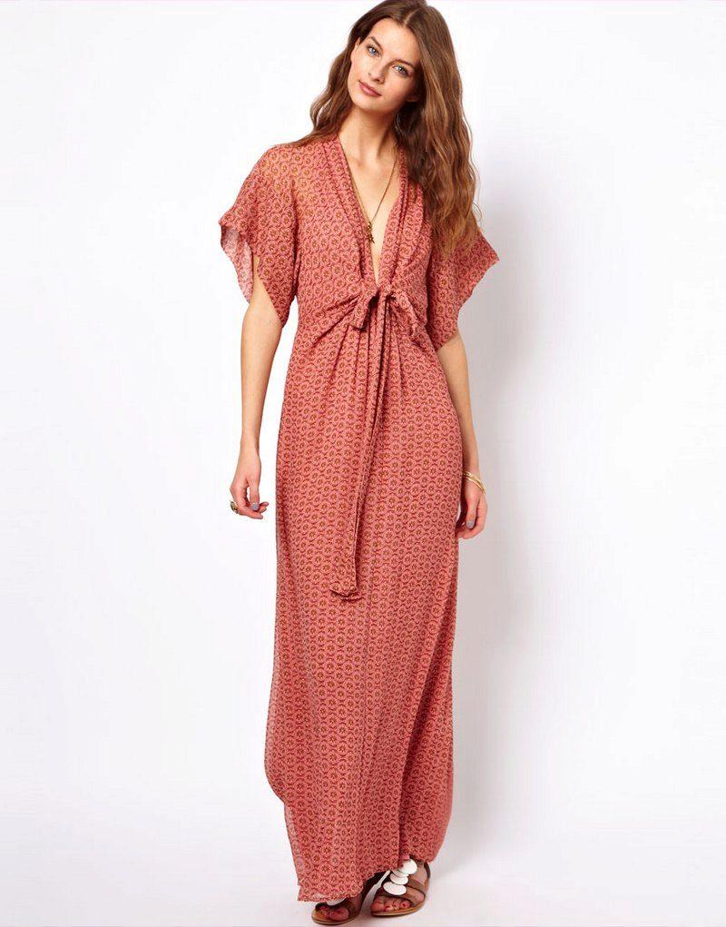 домашнее платье длинное