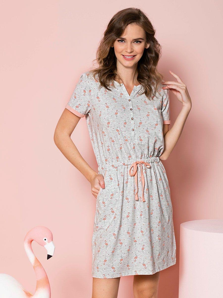 домашнее платье короткое