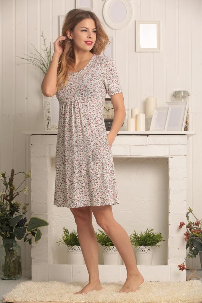 домашнее платье трикотаж
