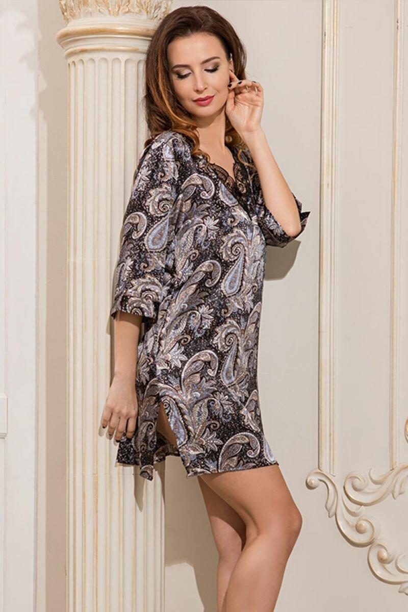 домашнее платье шелк