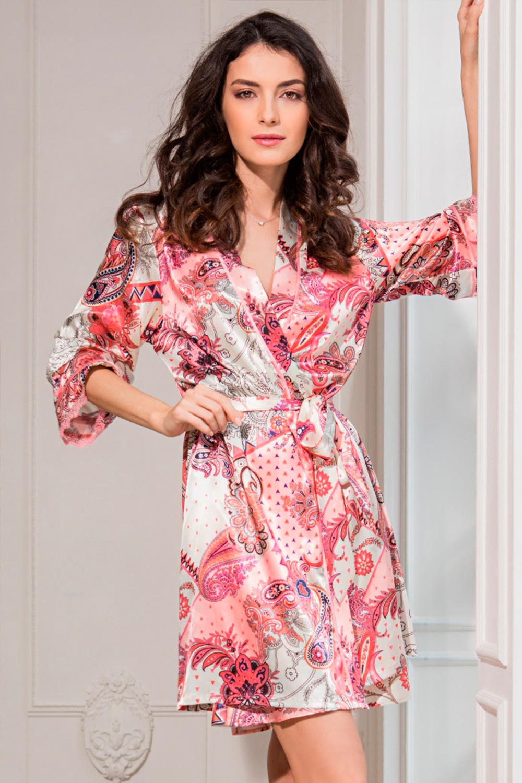 домашнее платье атлас