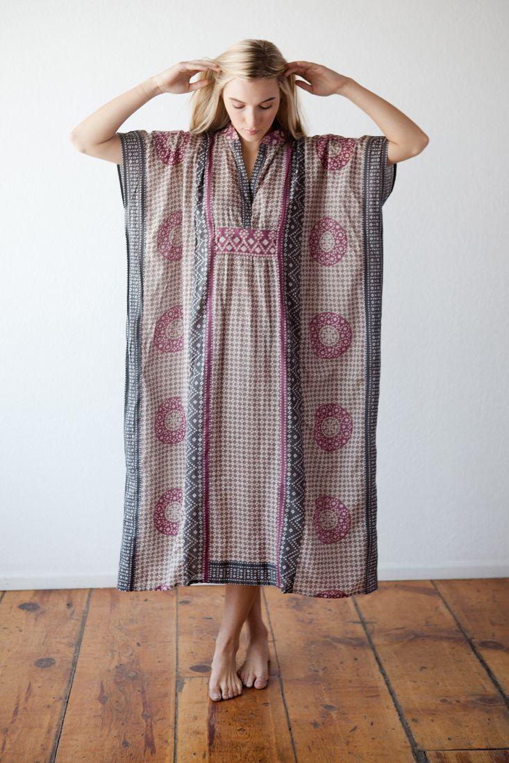 домашнее платье в стиле бохо