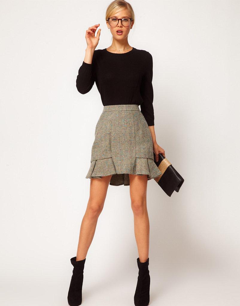 юбка годе укороченная фото