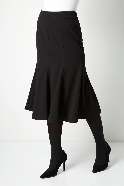 юбка годе черная фото