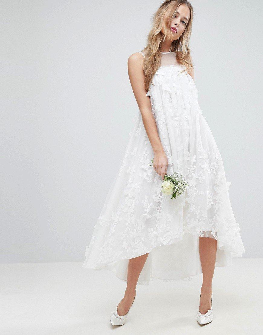 платье трапеция свадебное