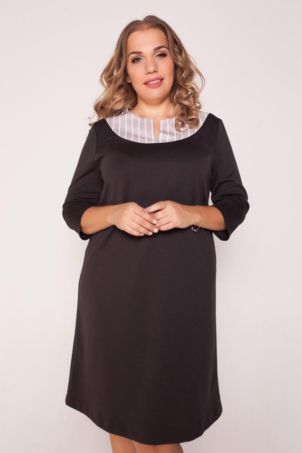 платье с овальной кокеткой