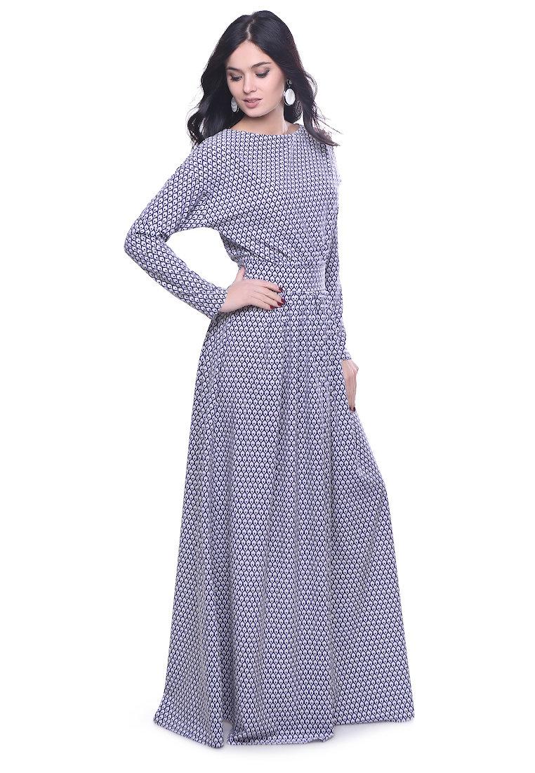 длинное платье повседневное фото