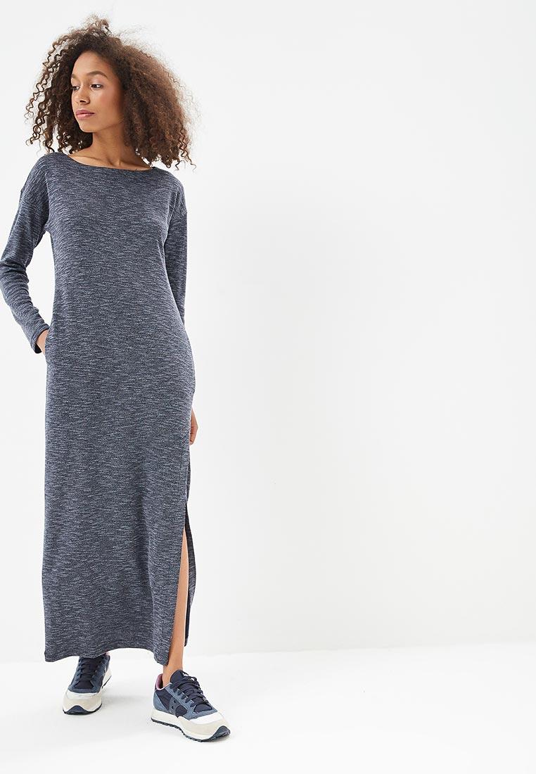 длинное вязаное платье фото