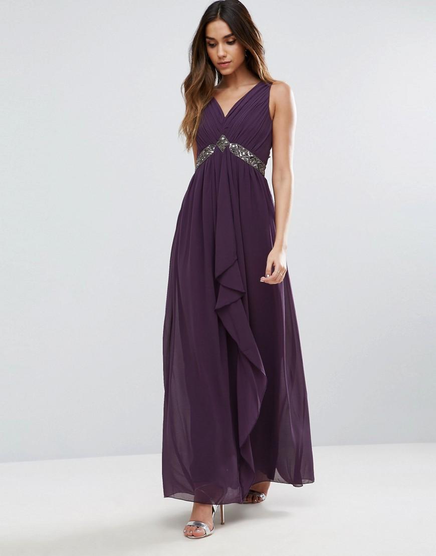 длинное платье с завышенной талией фото