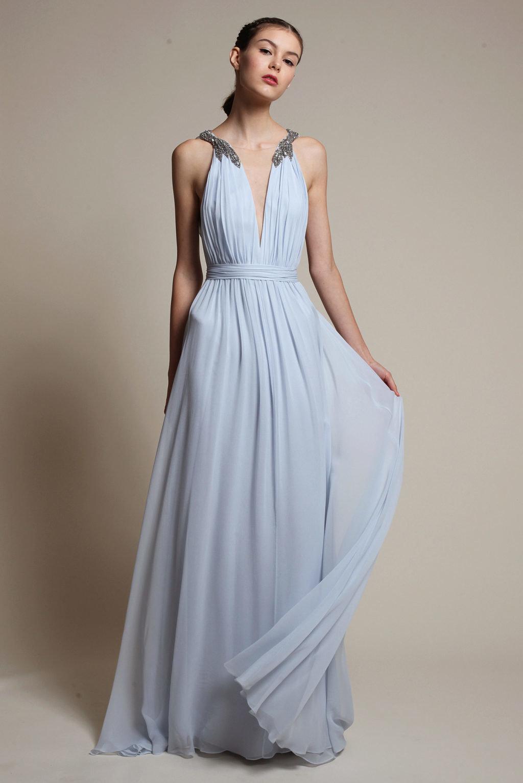 длинное платье в греческом стиле фото