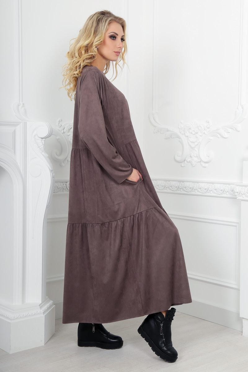 длинное платье оверсайз фото