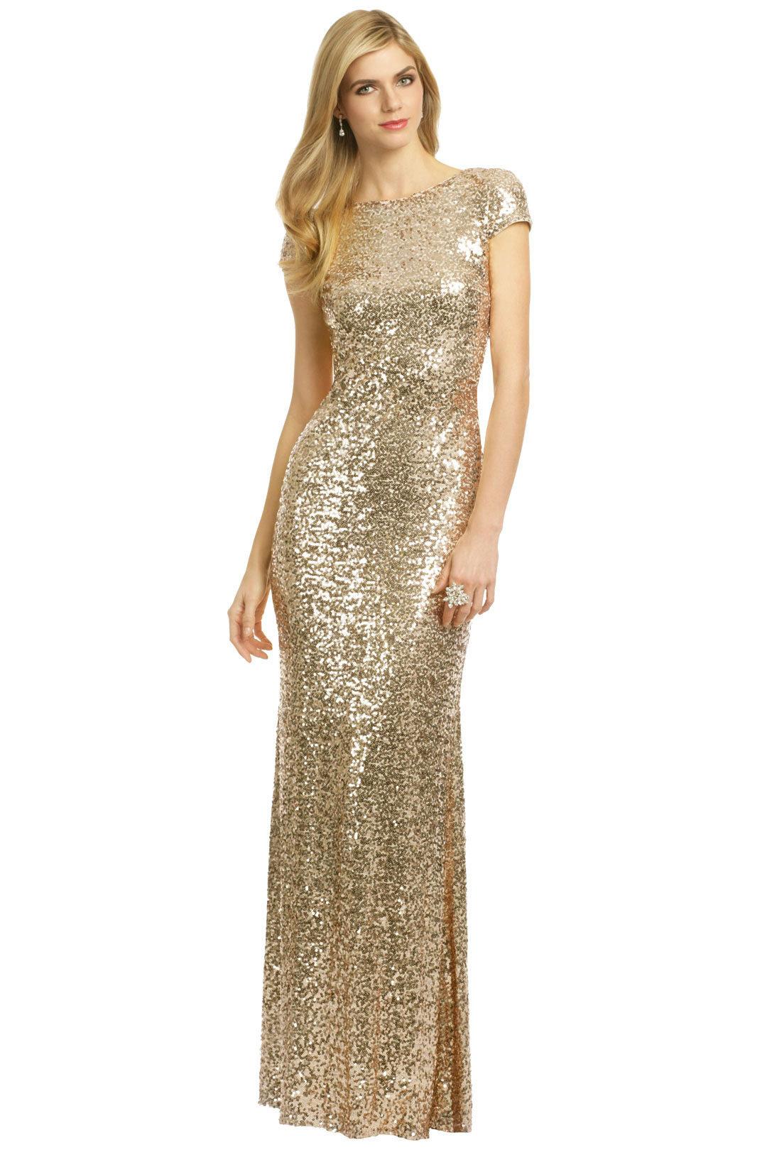 длинное платье блестящее фото