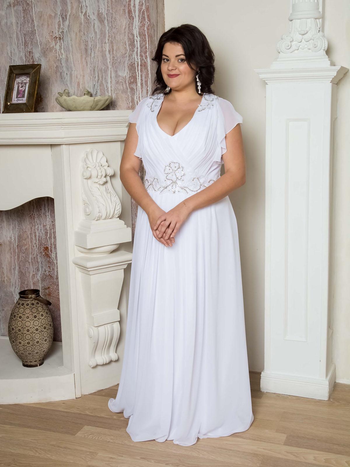 Платье-туника для полных фото