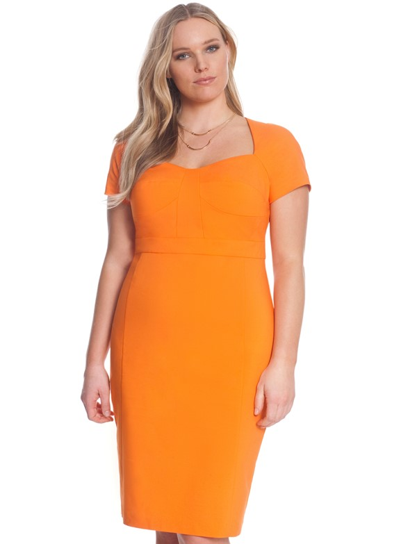 платье для полных футляр фото