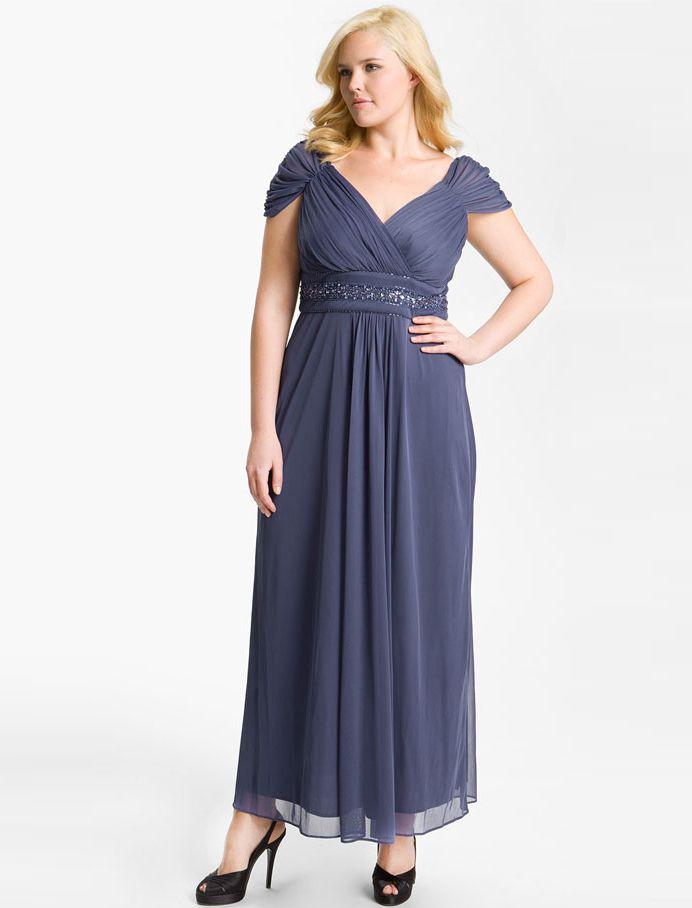 платье для полных ампир фото
