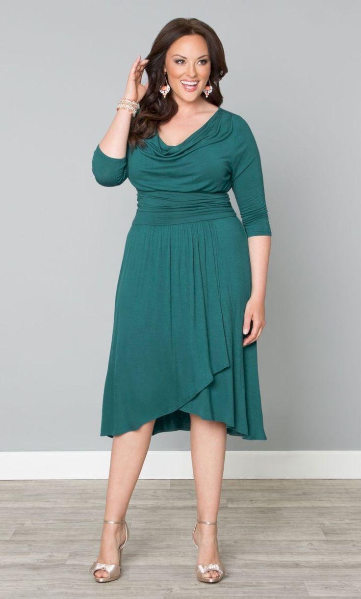платье для полных фигуры типа прямоугольник фото