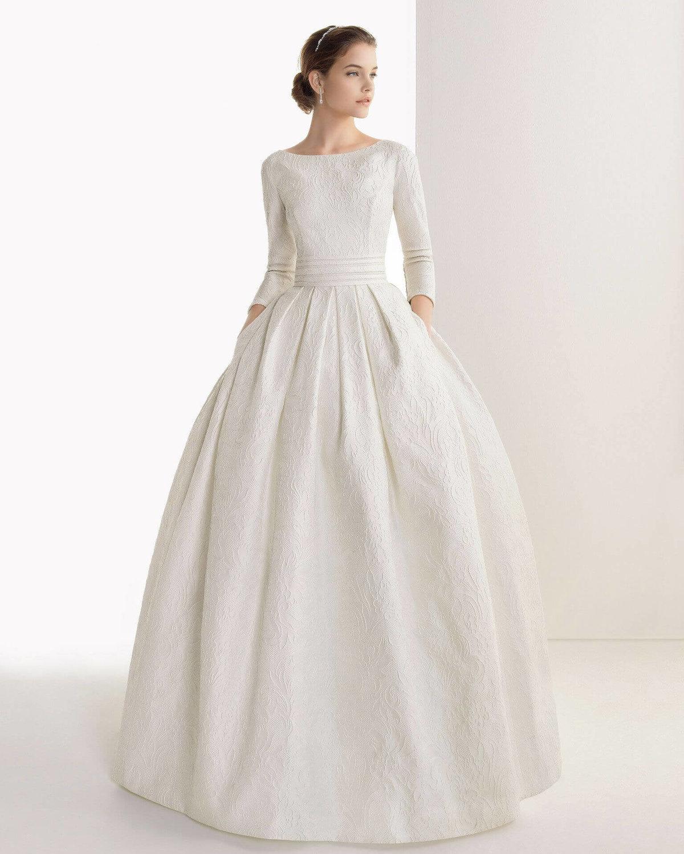 платье свадебное с длинным рукавом фото