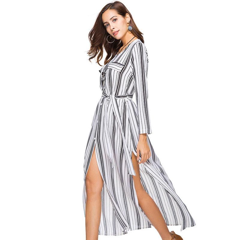 платье с длинным рукавом халат фото