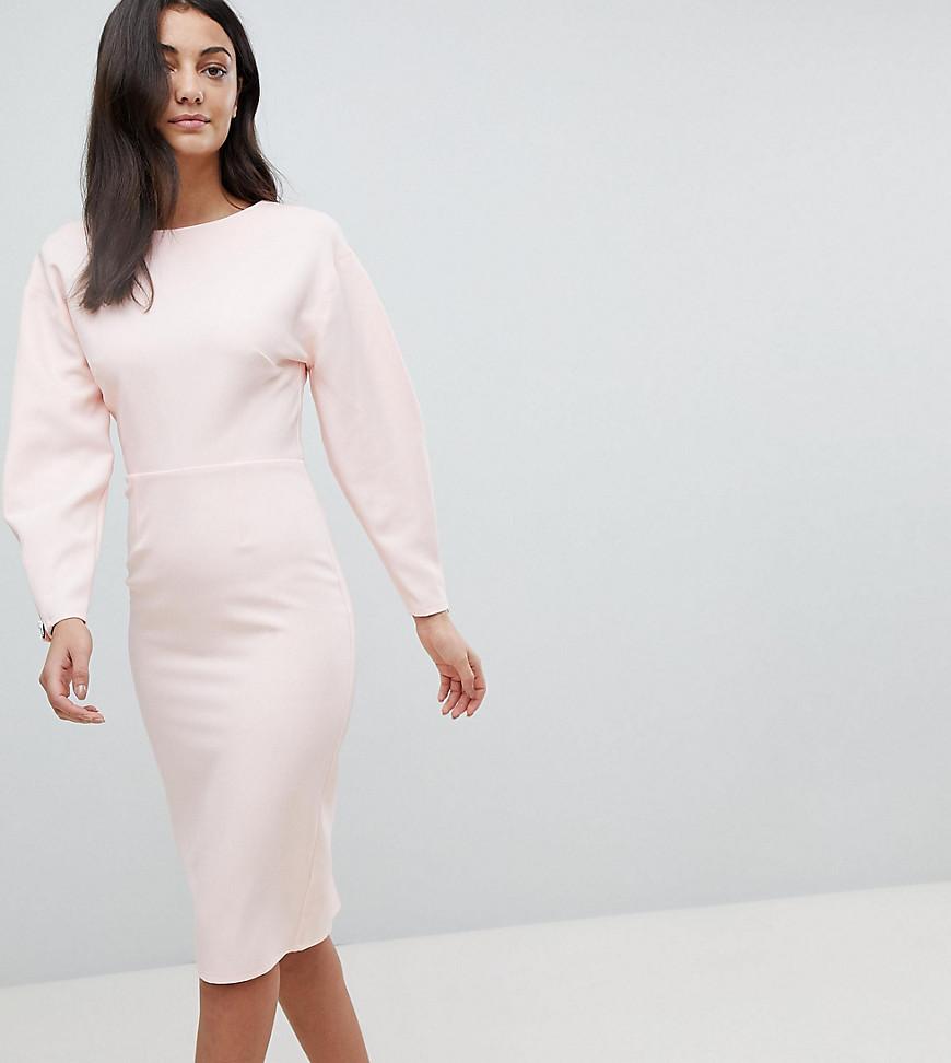 платье с длинным рукавом футляр фото
