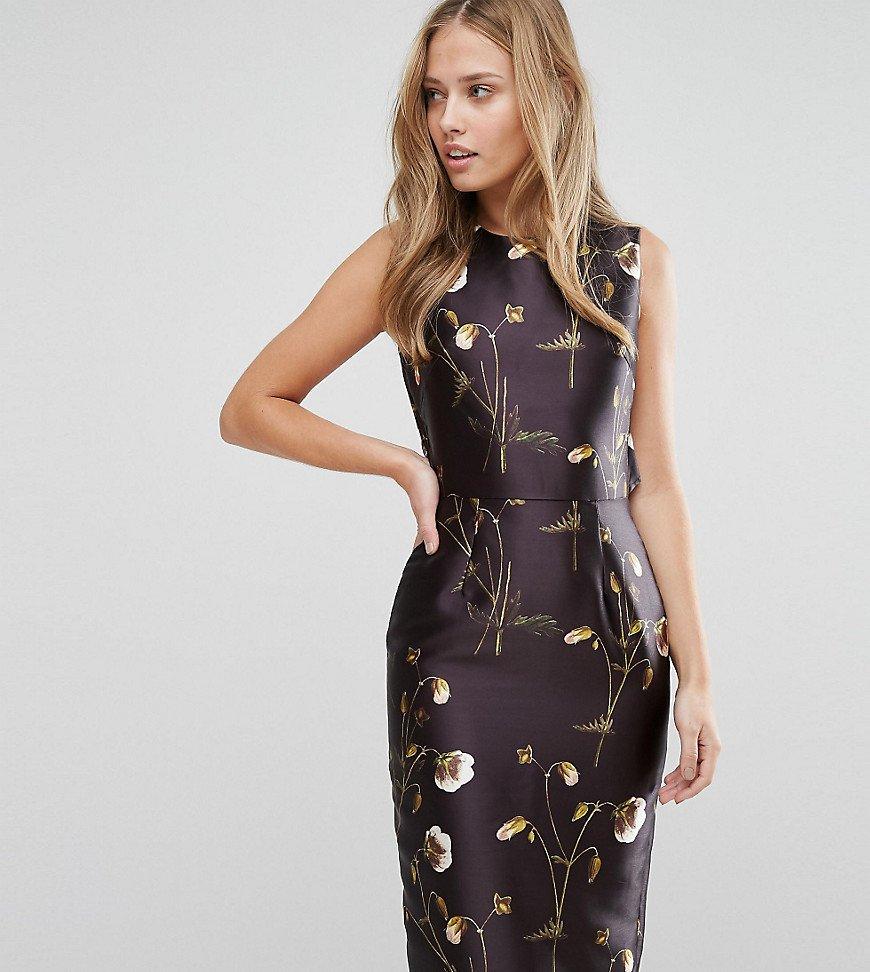 атласное платье футляр