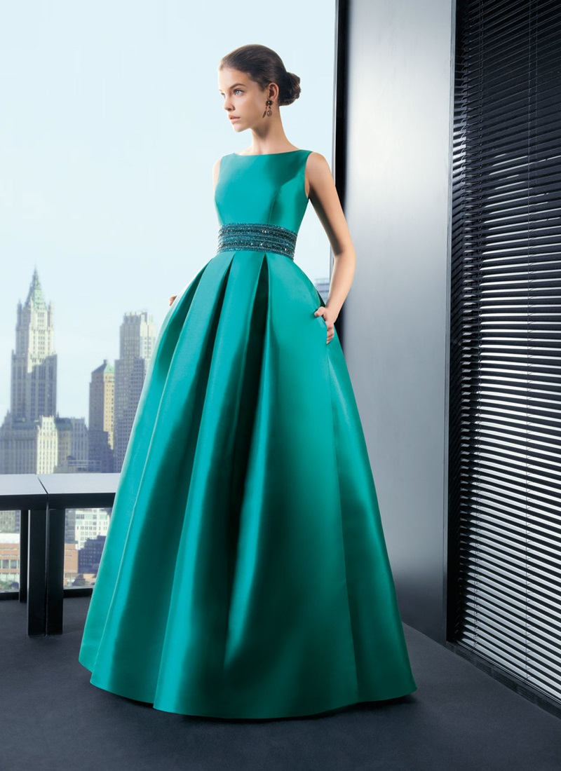 атласное платье длинное