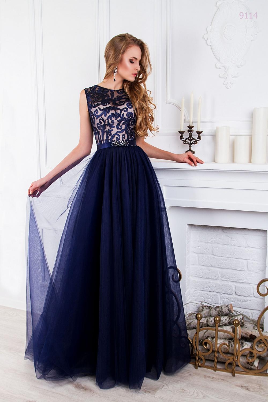 атласное платье с фатином