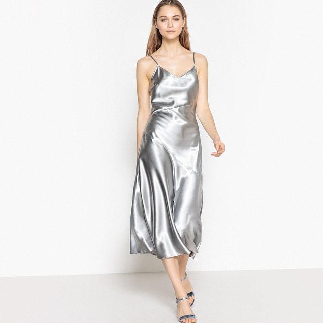 атласное платье и сатин