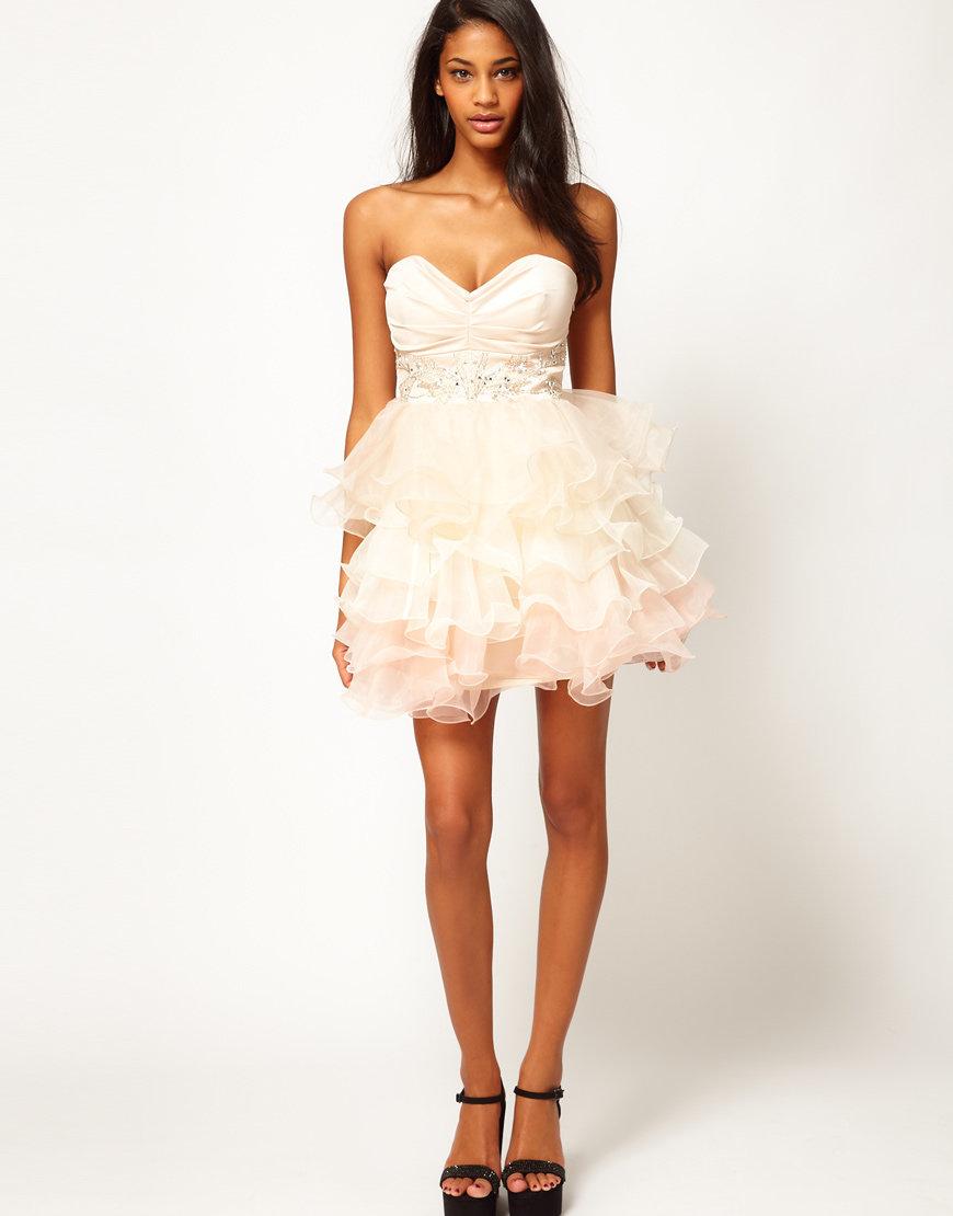 короткое пышное платье фото