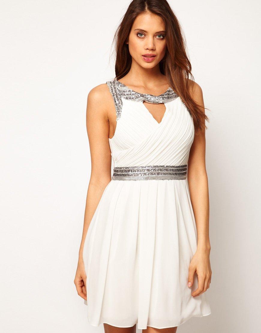 короткое платье в греческом стиле фото