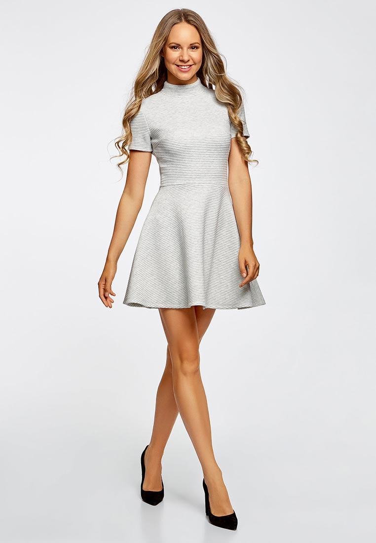 короткое платье расклешенное фото