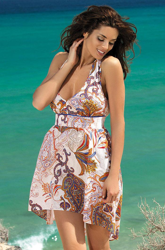 короткое платье пляжное фото