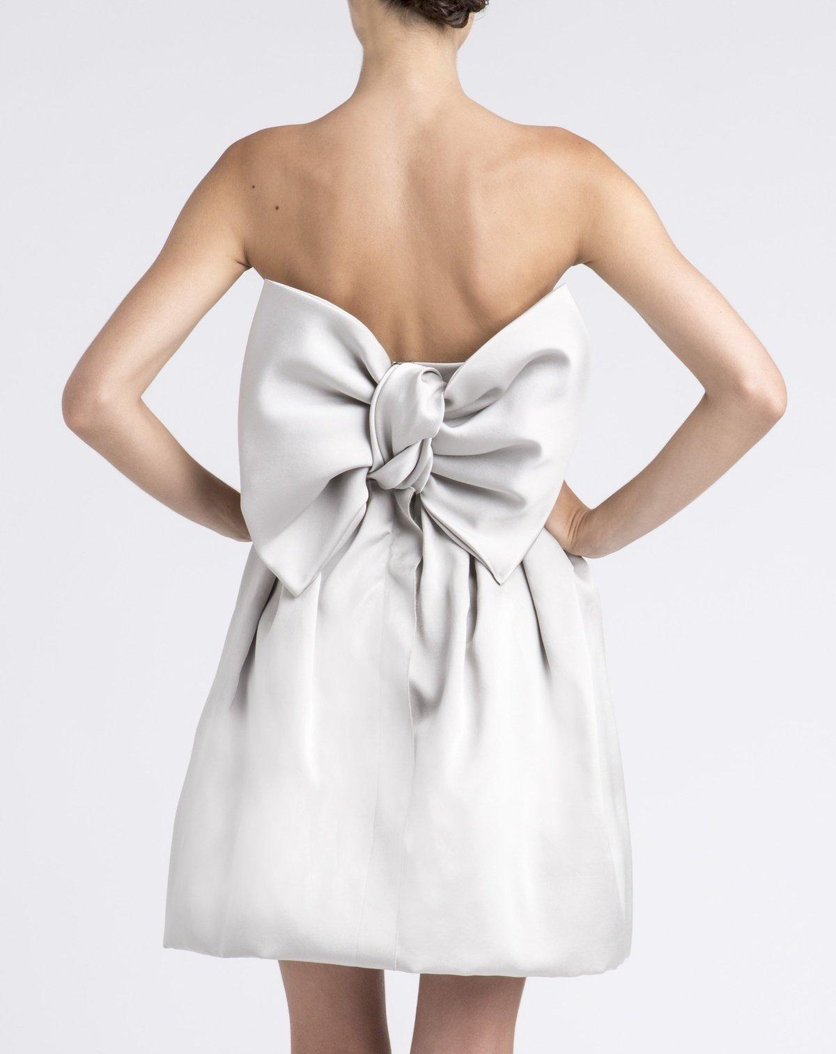 короткое платье с бантом фото