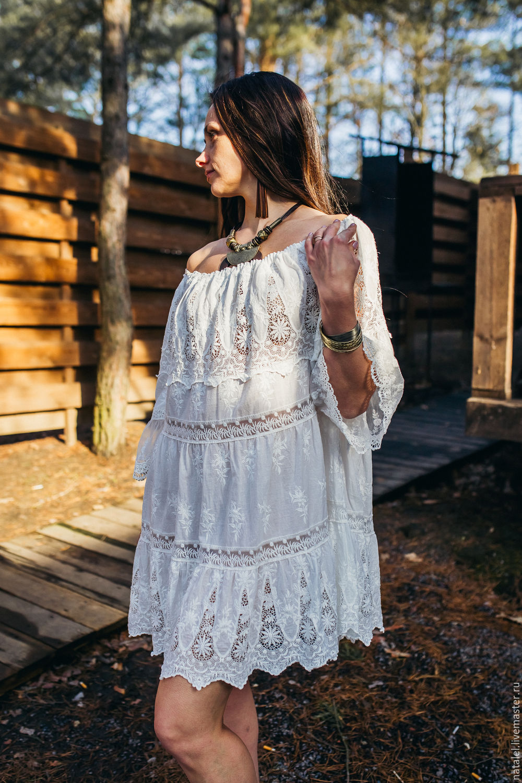 платье туника бохо