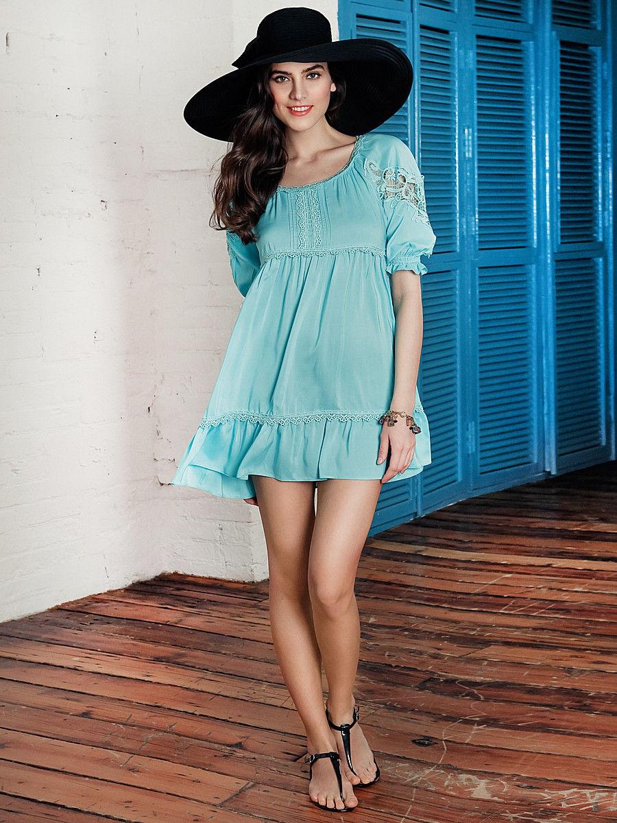 платье туника короткое