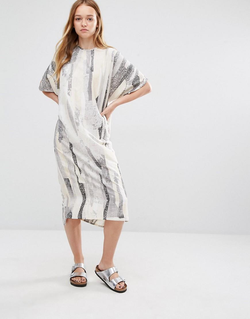 платье туника миди