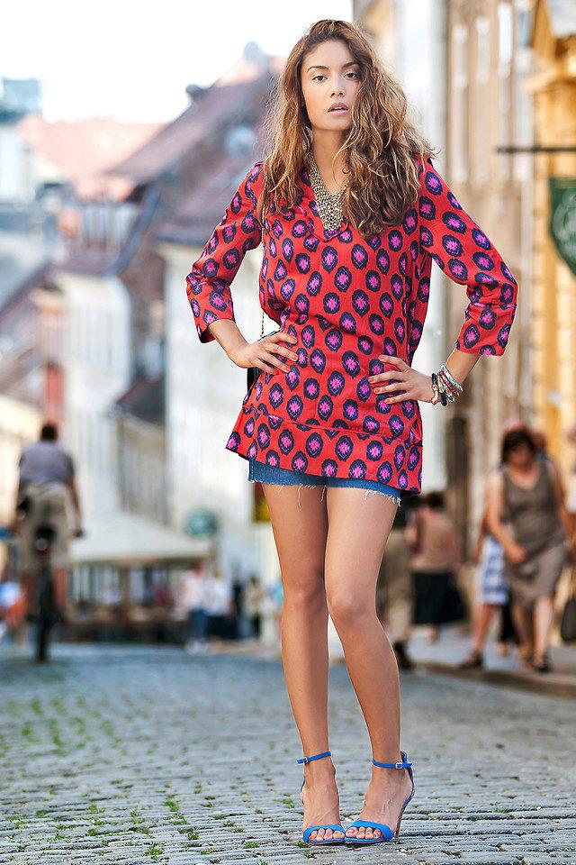 платье туника с шортами