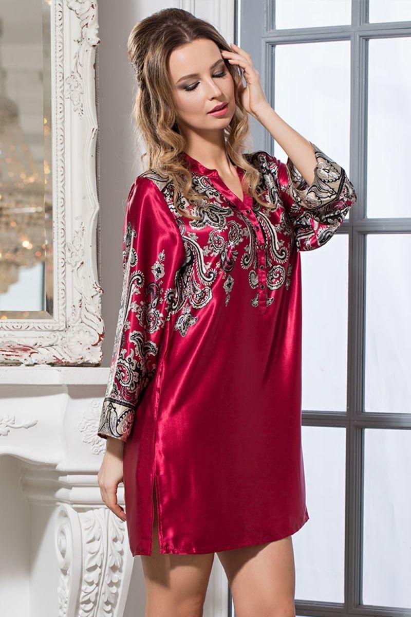 платье туника для дома шелковая