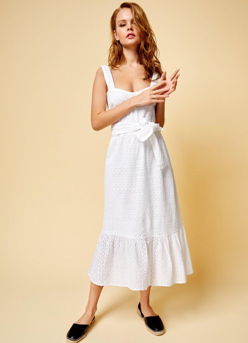 платье хлопковое сарафан